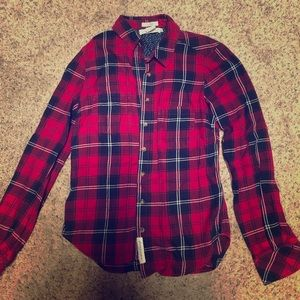 Flannel Fitted Shirt